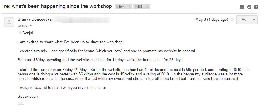 Facebook Advertising Workshop Gold Coast
