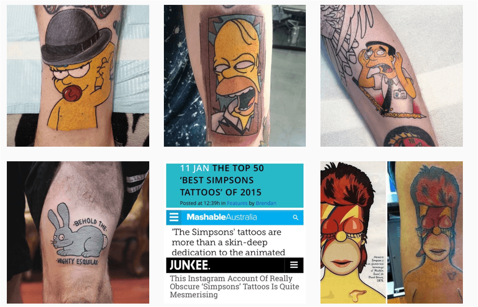 thesimpsonstattoo Gold Coast