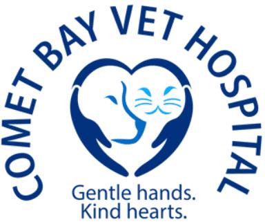 Cometbayvet logo 1